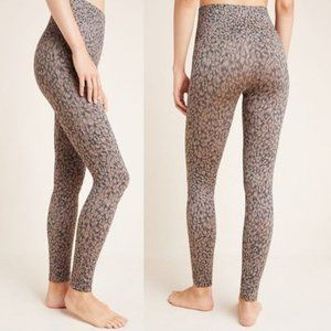 NWT Spanx Look At Me Now Seamless Leggings Leopard